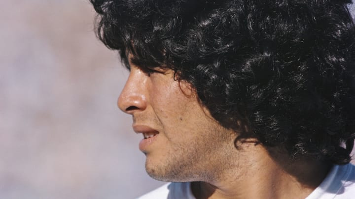 Diego Maradona Argentina 1981