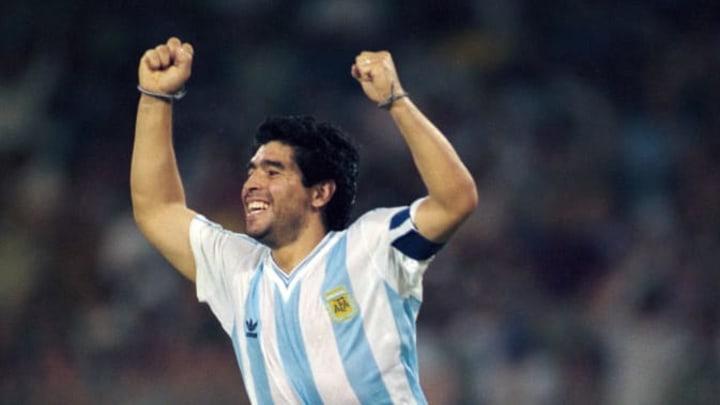 La planète a pleuré Diego Maradona au mois de novembre dernier.