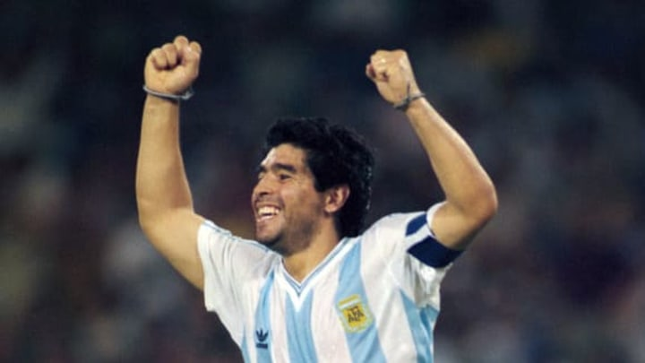Diego Maradona is universally recognised as one of the world's greatest ever players