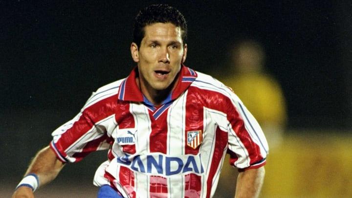 Diego Simeone of Athletico Madrid