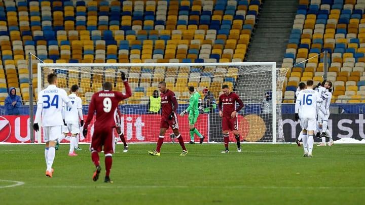 Dinamo Kiev v Besiktas - UEFA Champions league