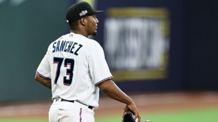 Sixto Sanchez is a top starting pitcher sleeper for fantasy baseball in 2021.
