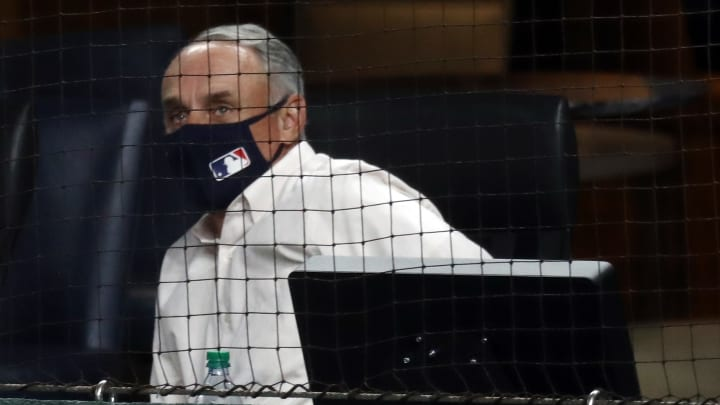 Rob Manfred, Division Series - San Diego Padres v Los Angeles Dodgers - Game Two