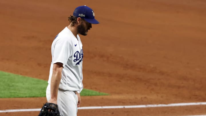 Clayton Kershaw, Division Series - San Diego Padres v Los Angeles Dodgers - Game Two