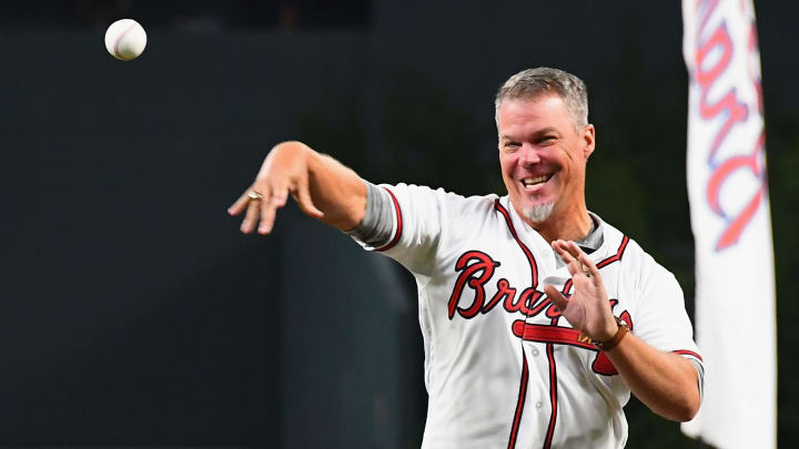 Atlanta Braves legend Chipper Jones