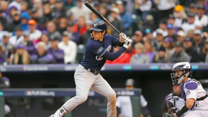 Christian Yelich is currently ranked second in the 2020 NL MVP odds on FanDuel Sportsbook.