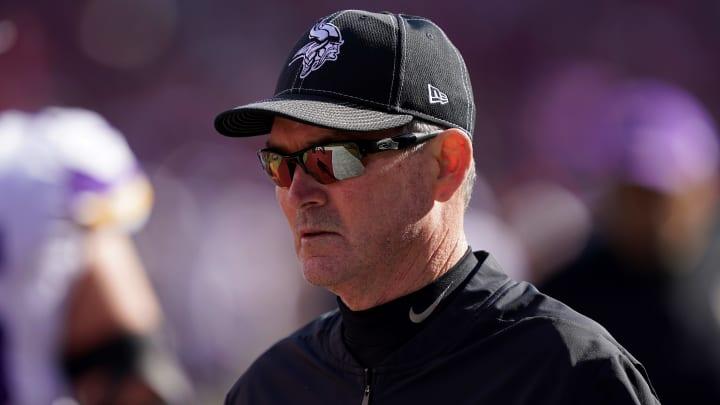Vikings head coach Mike Zimmer