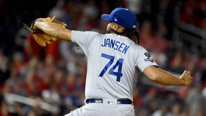 Los Angeles Dodgers pitcher Kenley Jansen has been a great postseason reliever.