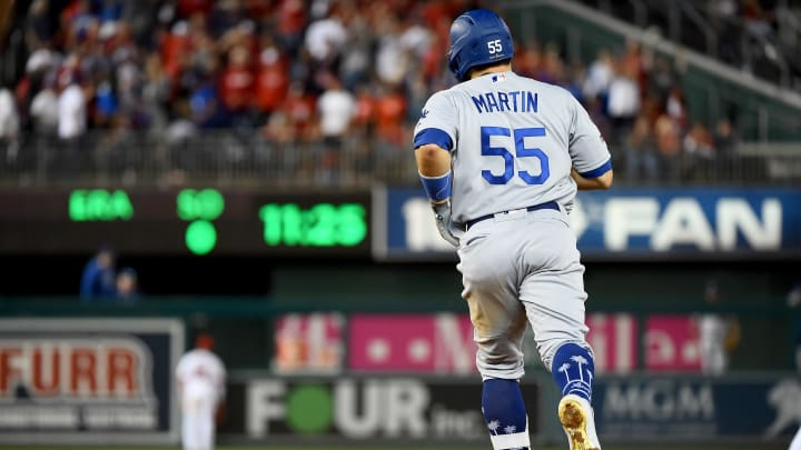 Russell Martin is still a free agent after spending 2019 with the Los Angeles Dodgers.