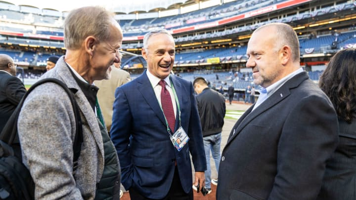Jim Pohlad, Dave St. Peter, Rob Manfred