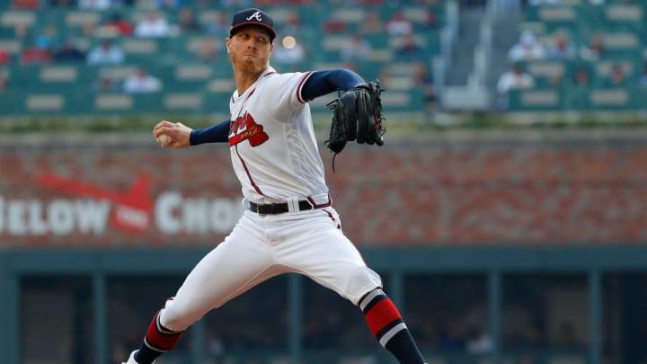 Atlanta Braves right-hander Mike Foltynewicz