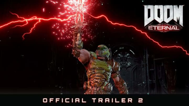 DOOM Eternal's second trailer was released Tuesday
