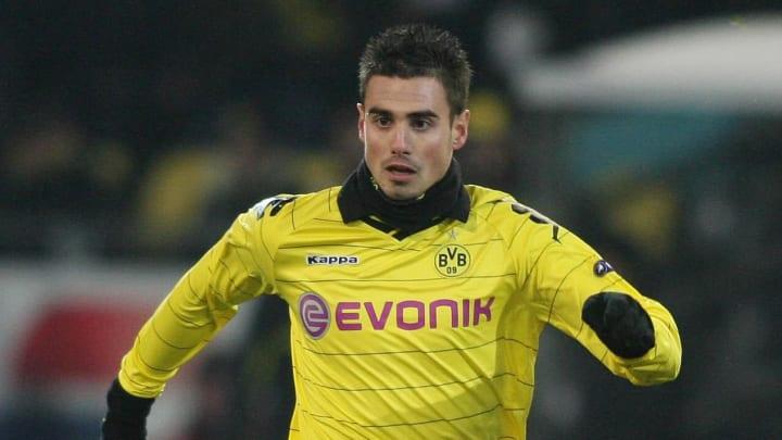 Dortmund's Damien Le Tallec plays the ba