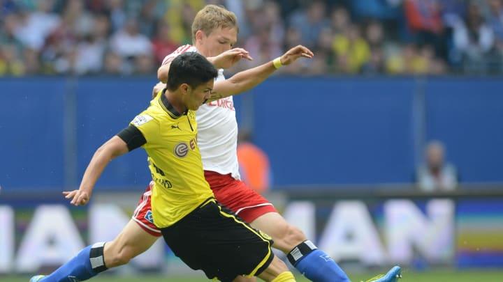 Dortmund's midfielder Leonardo Bittencou