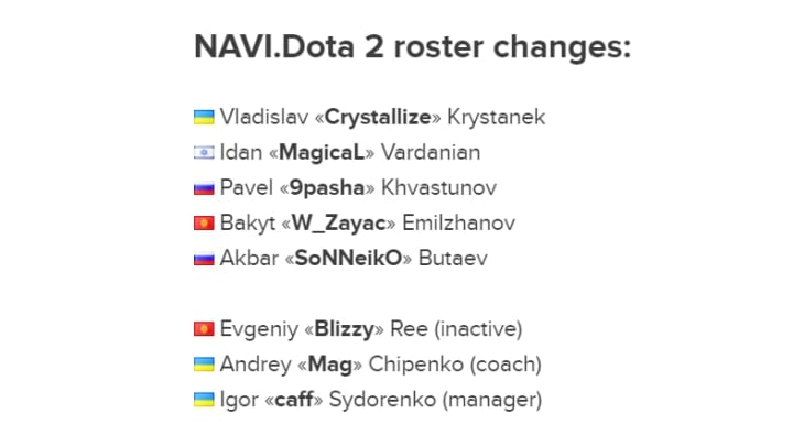 Image Courtesy of Natus Vincere