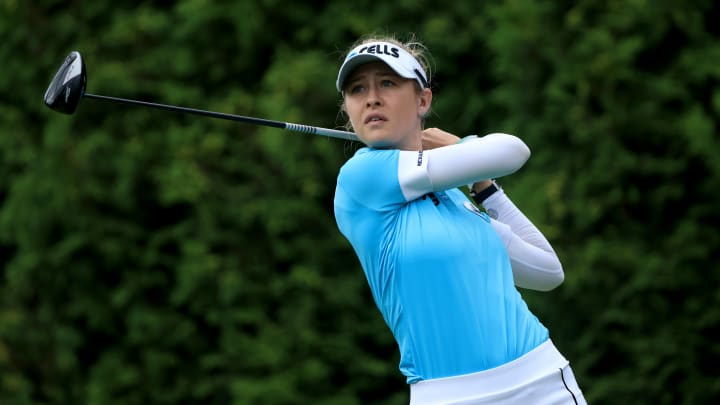 Nelly Korda is among the favorites to win the LGPA Evian Championship.