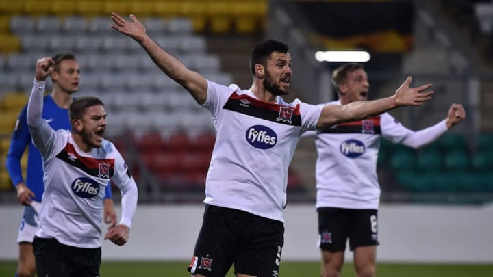 Dundalk lost their Europa League opener to Molde