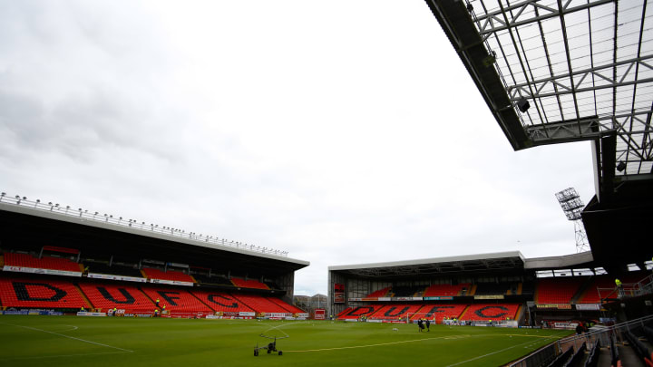 Dundee United's home is only 180m away from their city rivals stadium