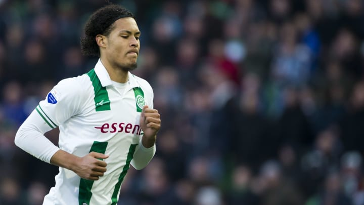 The Dutchman during his time at Groningen