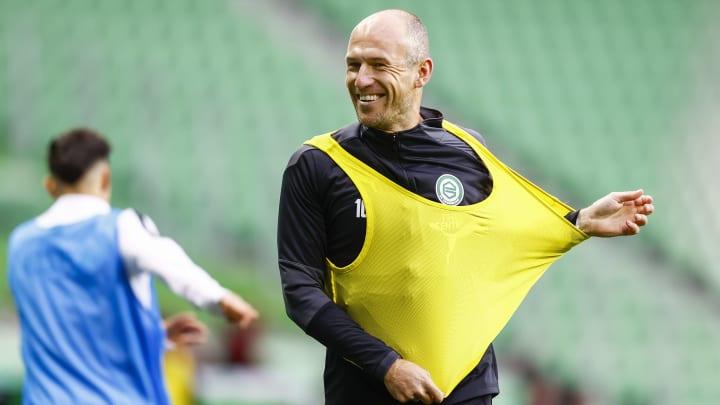 Arjen Robben hat die Hoffnung auf ein Comeback noch nicht aufgegeben