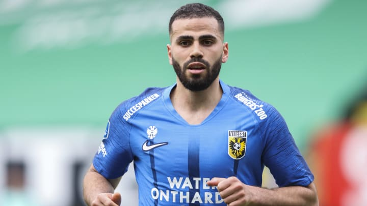 Oussama Tannane son olarak Vitesse'de forma giydi.