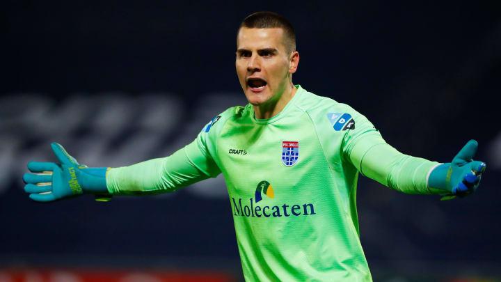 Werder-Keeper Michael Zetterer (25) bildete bei Zwolle eine echte Festung im Kasten