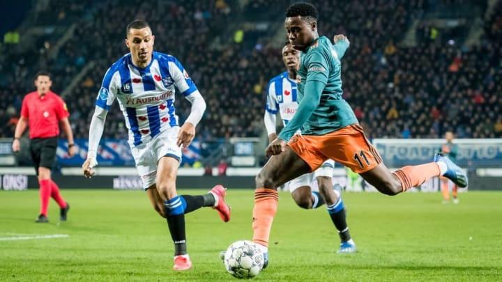 Promes has lit up Eredivisie