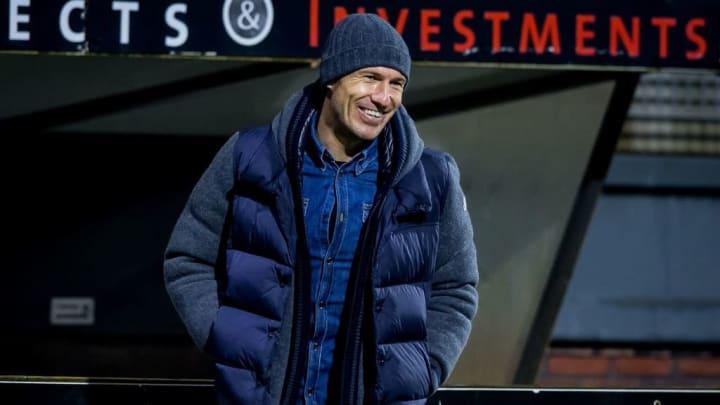 Arjen Robben trotz den Gedanken an ein Karriereende