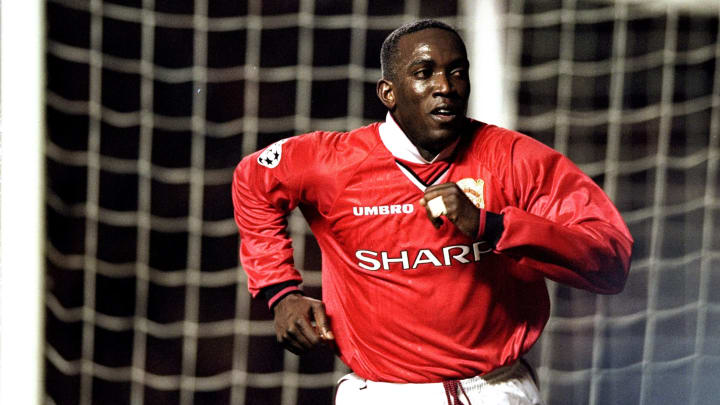 Dwight Yorke joined United for £12.6m in 1998