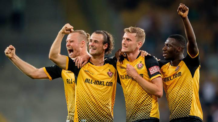 Dynamo kegelte den HSV aus dem Wettbewerb