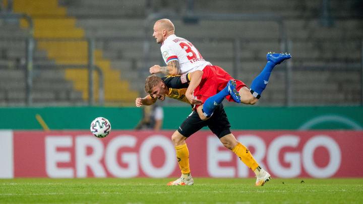 Toni Leistner feierte sein Pflichtspieldebüt für den HSV