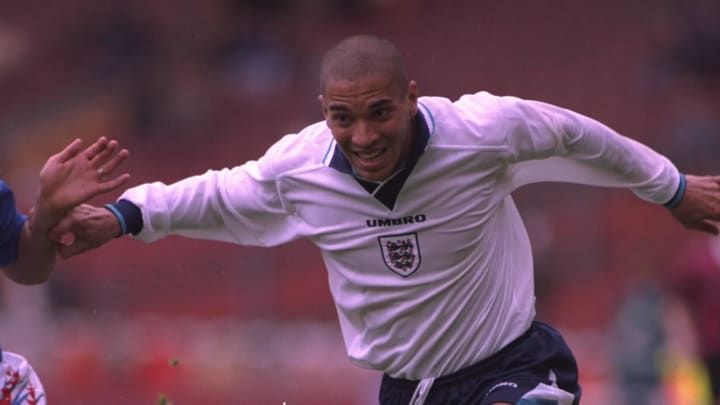 Stan Collymore won just three caps for his country