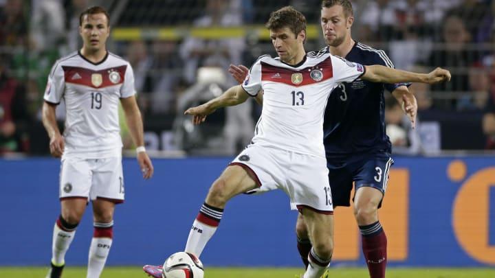"""EURO 2016 qualifying match - """"Germany v Scotland"""""""