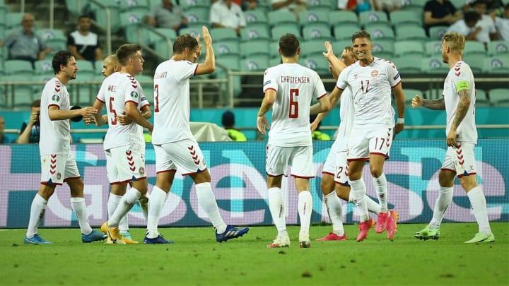 Die Dänen ziehen ins Halbfinale ein