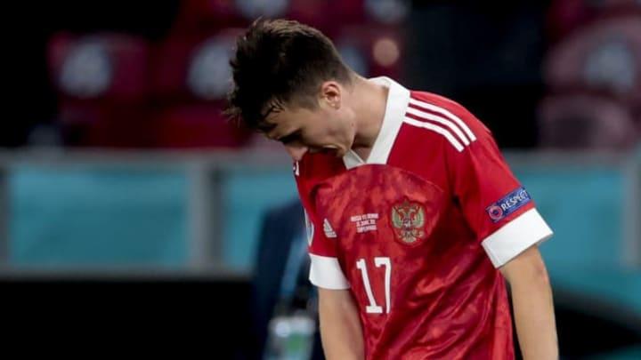 Golovin Rússia Eurocopa