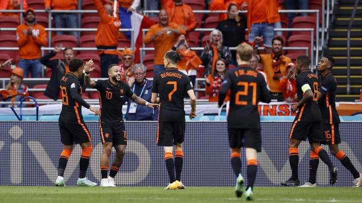 The Netherlands play the Czech Republic on Sunday
