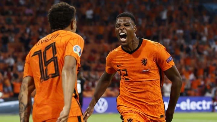 Eurocopa Denzel Dumfries Holanda