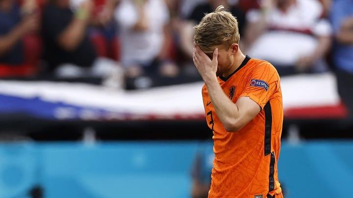 Holanda foi eliminada para a República Tcheca