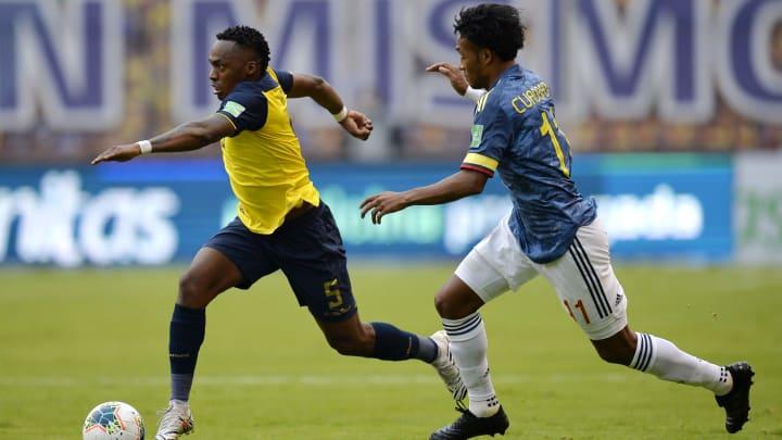 Colômbia e Equador estão no mesmo grupo na Copa América