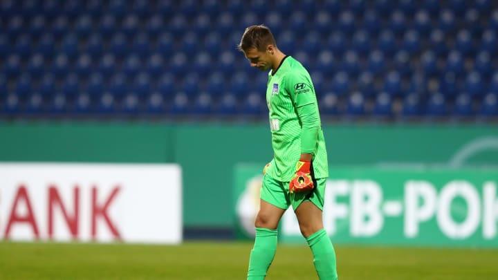 Alex Schwolow erlebte bei seinem Hertha-Debüt einen desolaten Tag