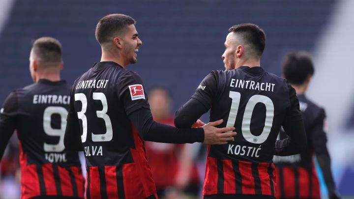 Das Duo Silva und Kostic dürfte nächste Saison nicht mehr das Eintracht-Trikot tragen