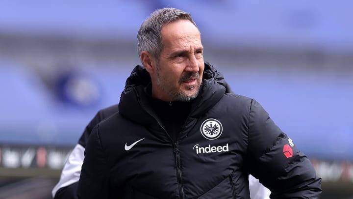 Adi Hütter könnte am Saisonende nach Gladbach wechseln