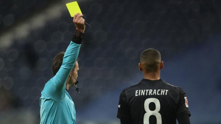 Die Eintracht sah bisher die meisten Karten