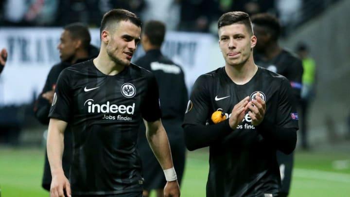 Filip Kostic, Luka Jovic