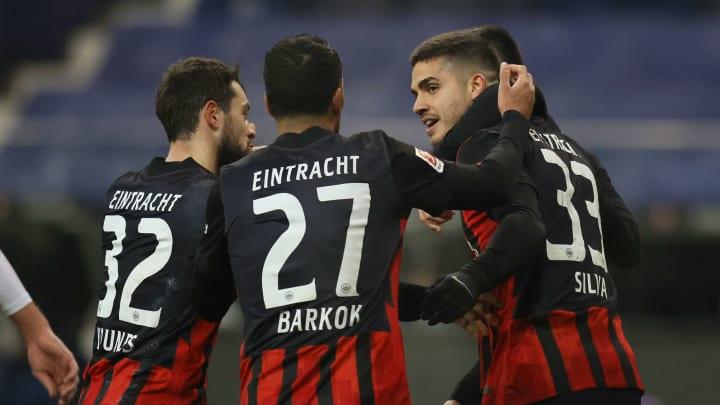 Eintracht Frankfurt ist richtig gut drauf