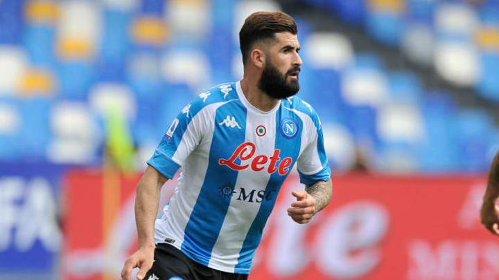 Elseid Hysaj player of Napoli, during the match of the...