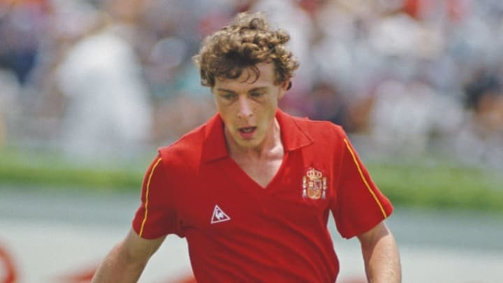 Emilio Butragueno Spain 1986 FIFA World Cup