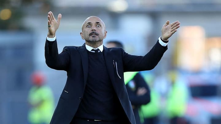 Luciano Spalletti as AS Roma manager