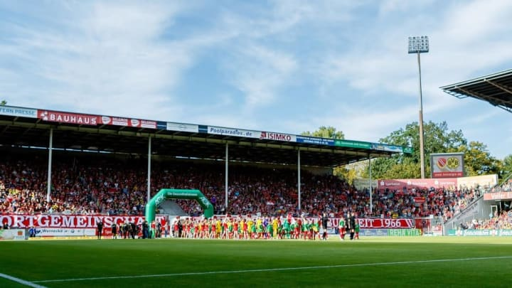 Energie Cottbus hosted Borussia Dortmund in a friendly in 2019