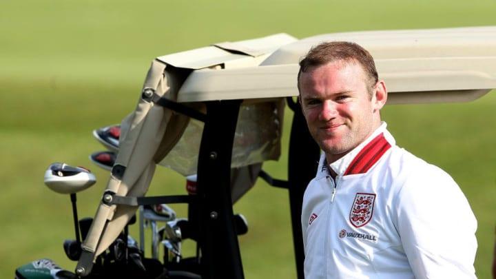 Rooney es un fanático del golf